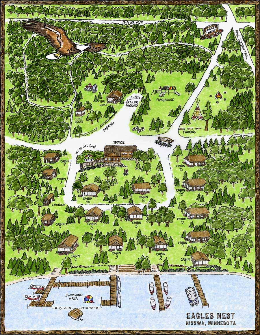 Resort Cabins Nisswa Minnesota Lake Cabins Brainerd Mn